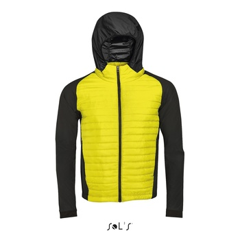 Mid new york men jaune noir