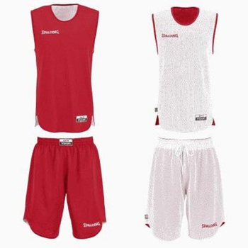 Mid kit reversible junior rouge blanc