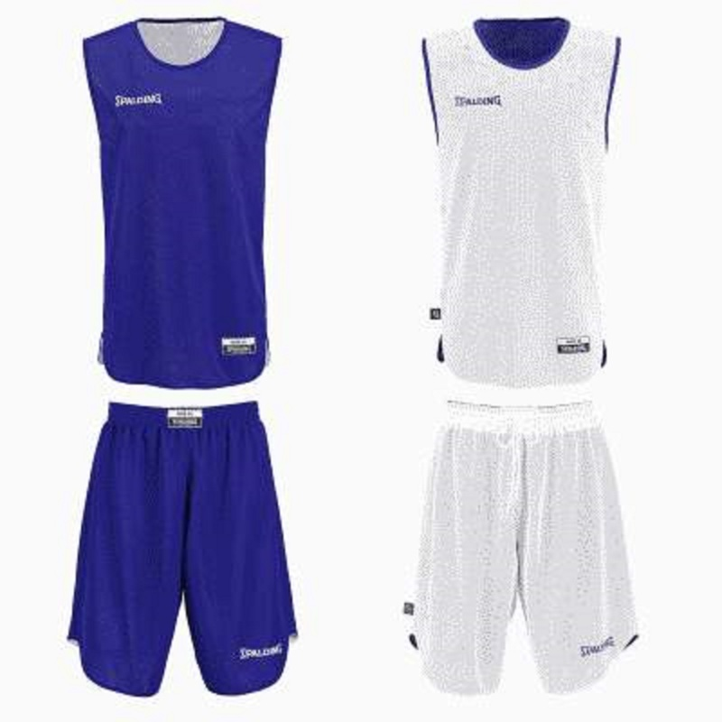 Large kit reversible junior royal blanc