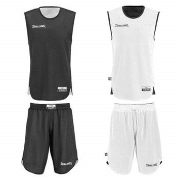 Mid kit reversible junior noir blanc